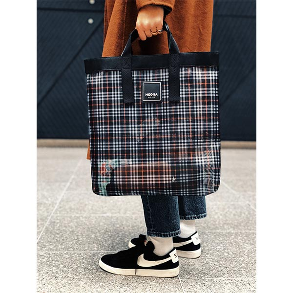 Alexa Shopper Bag | Plaid