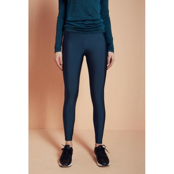 comfortable shiny anais margaux branded green colour full lenght legging