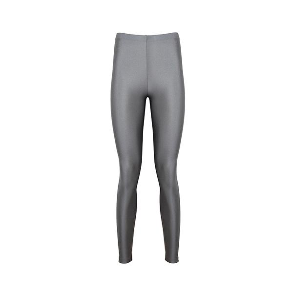 Alexandra Shiny Legging | Light Grey Clothing Anais & Margaux