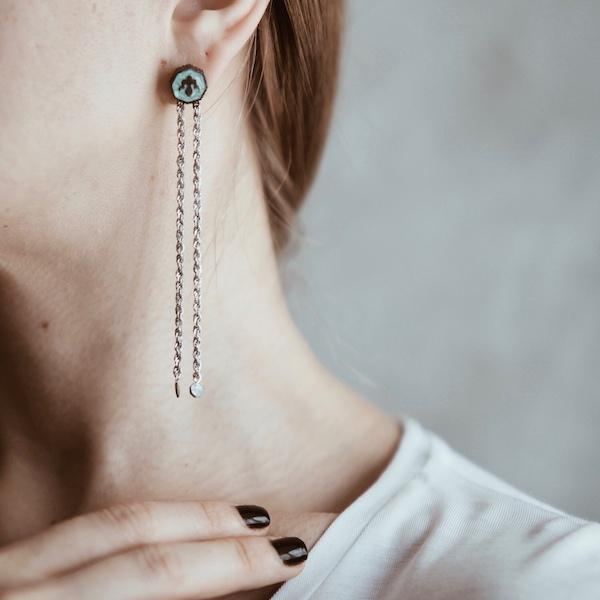 Alka Earring | Silver Accessories Luna Merdin