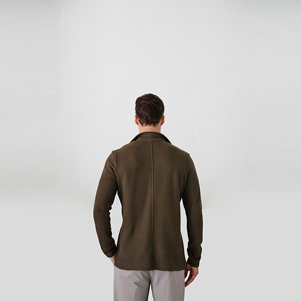 Angelo Blazer | Khaki Polo Shirt Port Royale