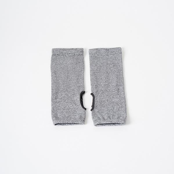 ankle grey colour flexible comfortable breathable yoga pilates socks