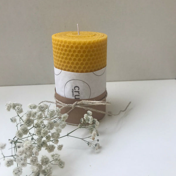 Cru B'Roll Giant | Beeswax Candle