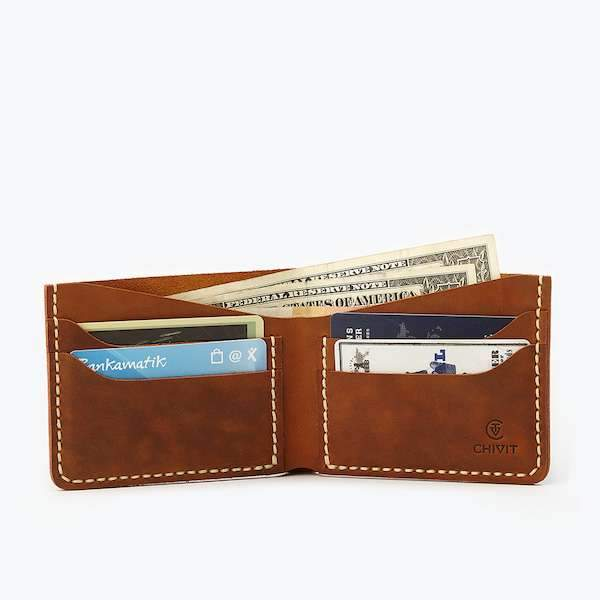 Bifold Wallet | Antique Brown Bags Chivit