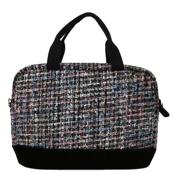 "Cotton Tweed with glitters 13"" laptop bag"