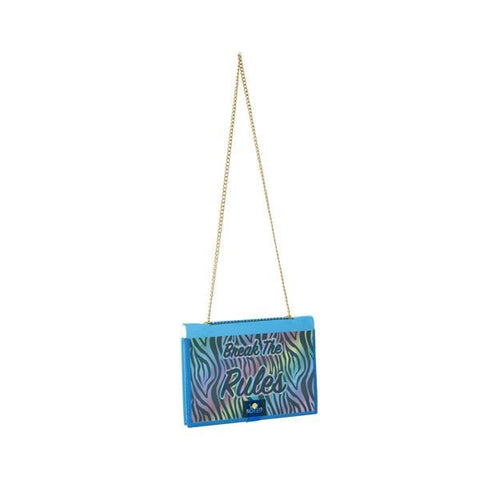 Why Note!? Fun Note Bag | Transparent | Animal Print