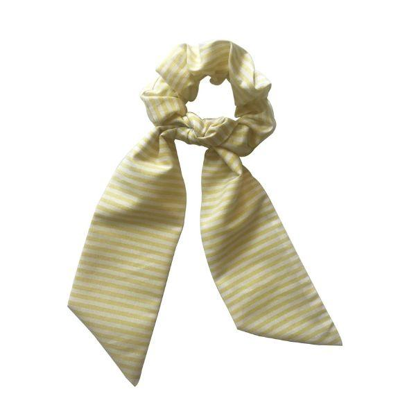 Bow Scrunchie | Yellow Accessories Bows & Wows