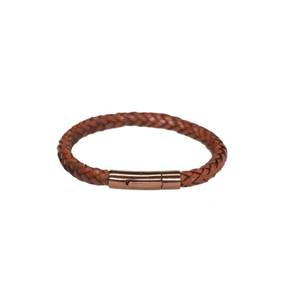 vegetable leather tobacco unisex bracelet at hippist