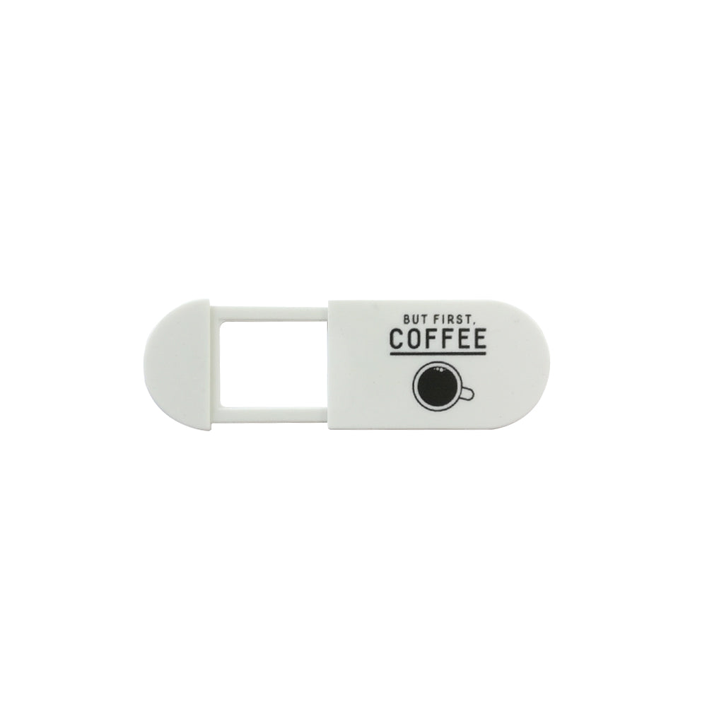 Webcam Cover | But First Coffee