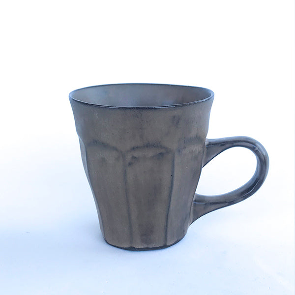 handmade ceramic brown tea and coffee cup at hippist