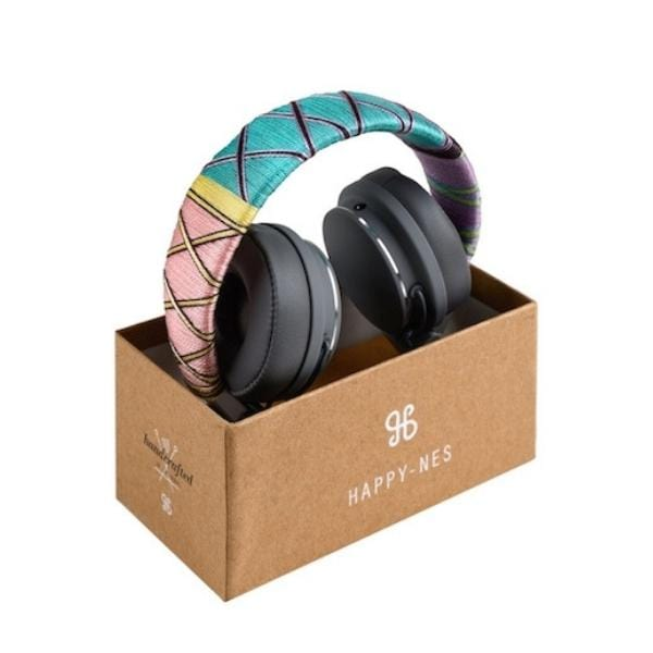 Happy-Nes headphone in box handcrafted on New Urbanears Plattan 2