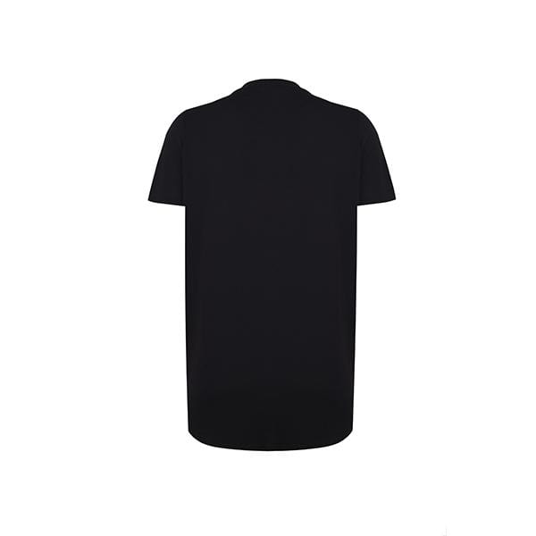 Silky touch crew neck black basic t-shirt