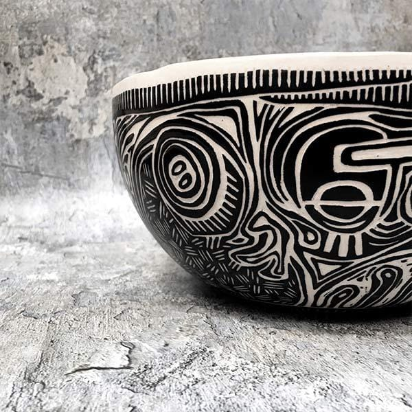 Discordian 7 | Ceramic Bowl