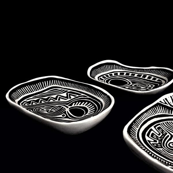 Discordian 3 | Ceramic Plates | Set of 3