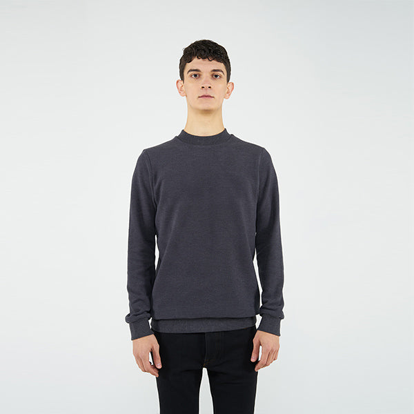 Reflect Studio Coal Colour Classic Fit Basic Unisex Sweatshirt at hippist.co.uk