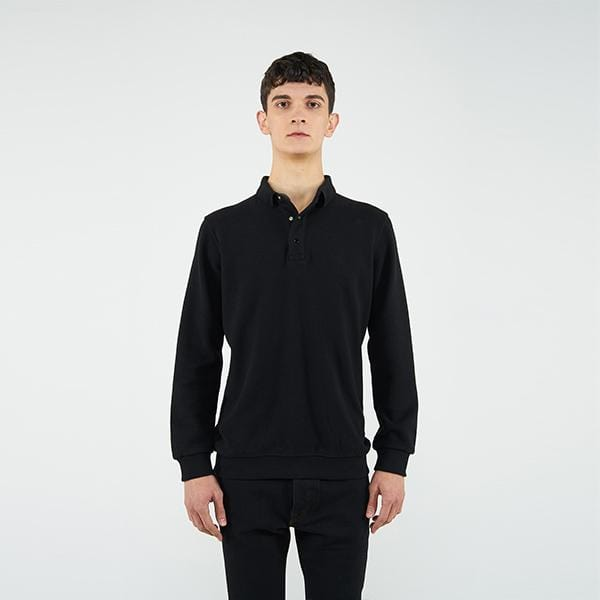 Reflect Studio Polo Neck Unisex Sweatshirt with Spinning Wheel Story Collection  at hippist.co.uk