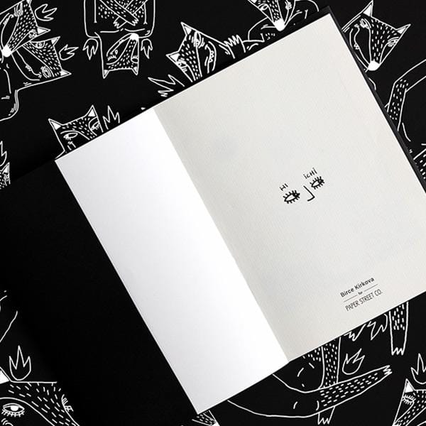 Hi Ichi Notebook | Black