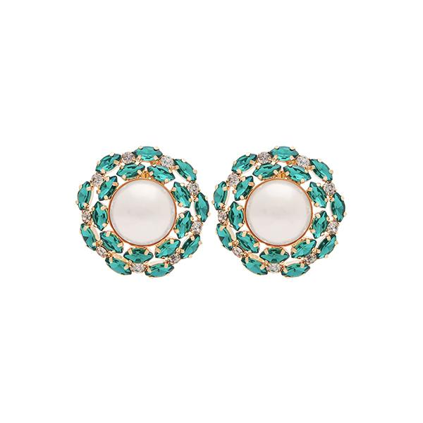 Alexis Crystal Earrings | Emerald Jewellery Ninon