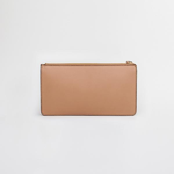 Envo Clutch Bag | Beige & Red