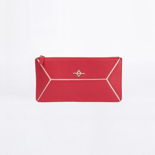 Envo Clutch Bag | Red