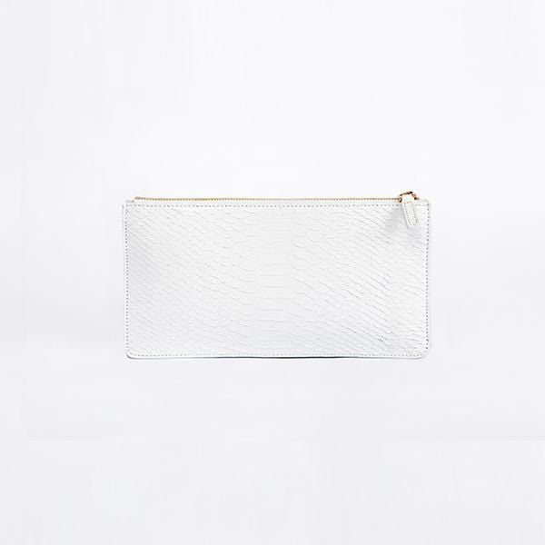 Envo Clutch Bag | White