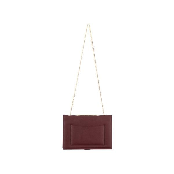 Why Note!? Maroon powder formal notebook bag