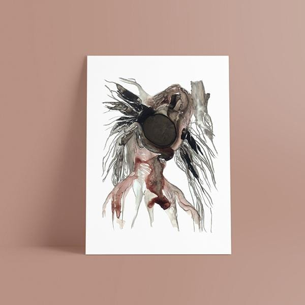 Fighter Women Fine Art Print