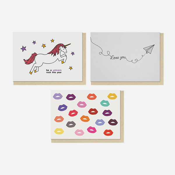 For Good Wishes | Set of 10 Postcard Pack