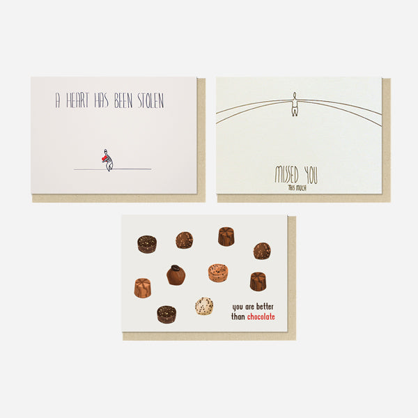 For Love Letters | Set of 10 Postcard Pack
