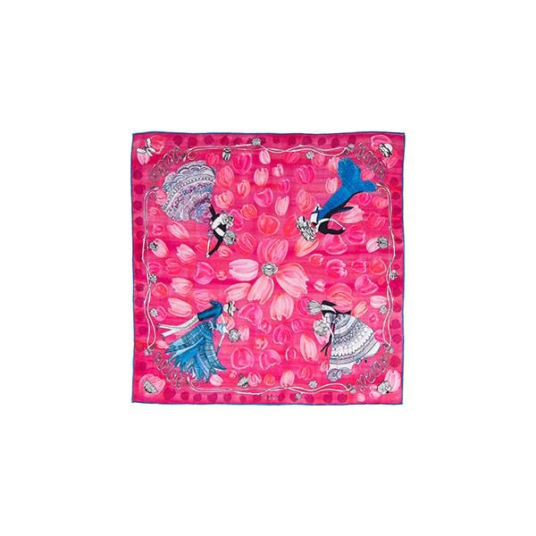 O My Love | Silk Bandana