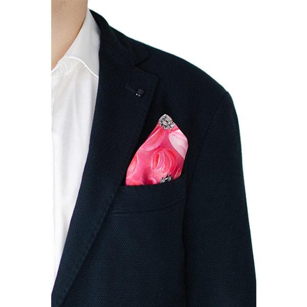 O My Love | Silk Pocket Square