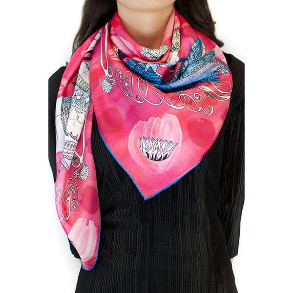 O My Love | Silk Scarf