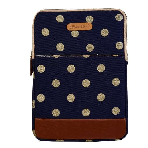 "Glittery Dots 13"" Laptop Sleeve"