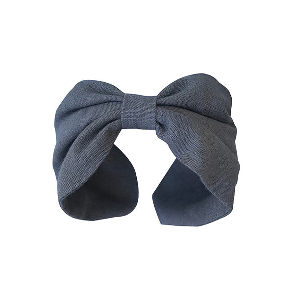 Luxury 100% fume colour linen headband, hand dyed with colours extracted from plants