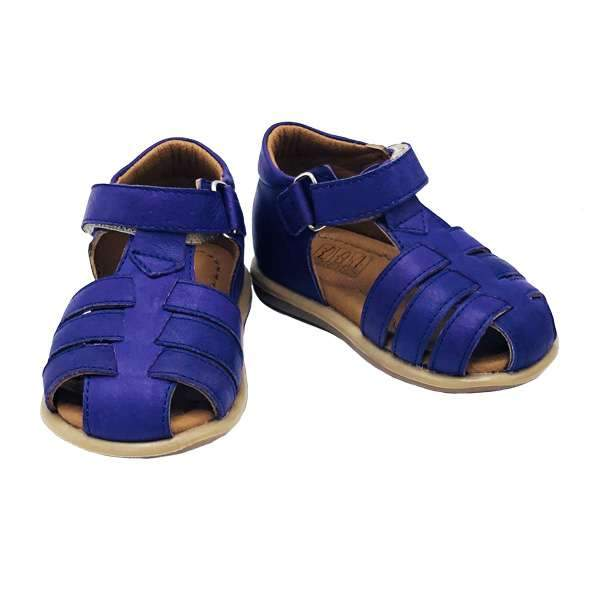 Baby-friendly purple colour sandals are lightweight, flexible,  and unique styles to keep your growing baby girl comfortable during development.