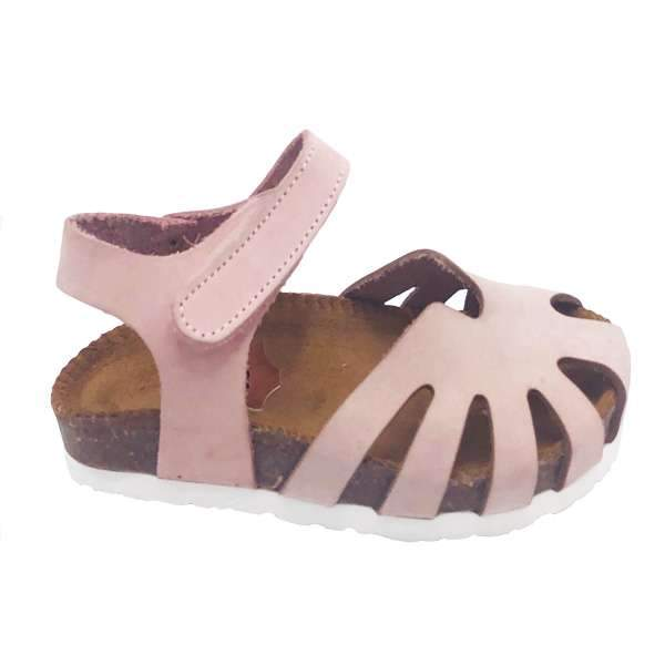 Pink colour baby-friendly sandals are lightweight, flexible