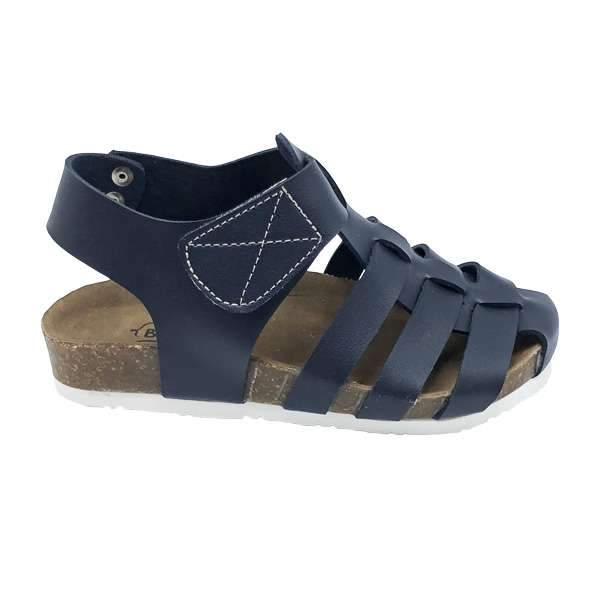 Dark blue colour baby-friendly sandals are lightweight, flexible