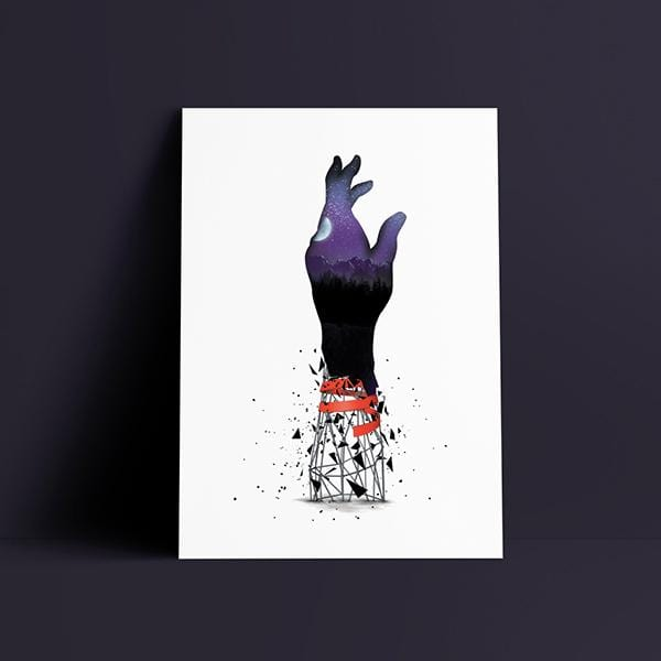 Helping Hand Fine Art Print