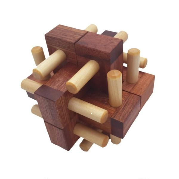 Hedgehog Burr Puzzle - hippist.co.uk