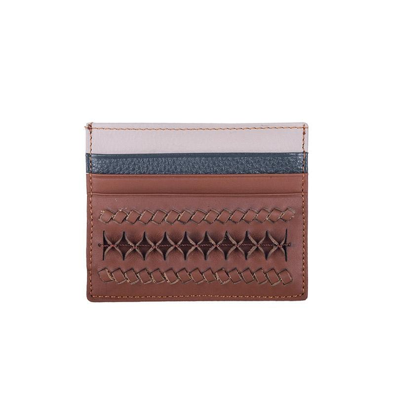Minica Card Holder | Camel Leather