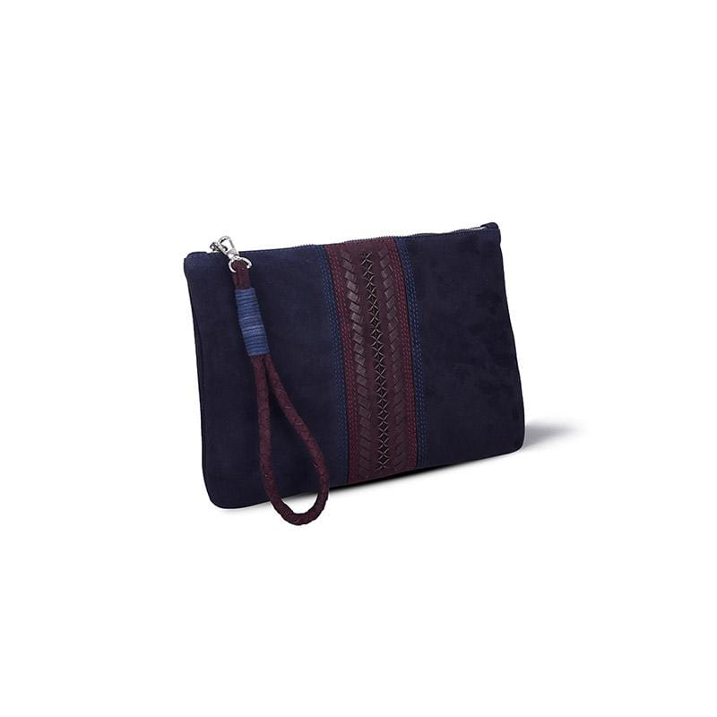 Pita Signature Clutch | Midnight Suede
