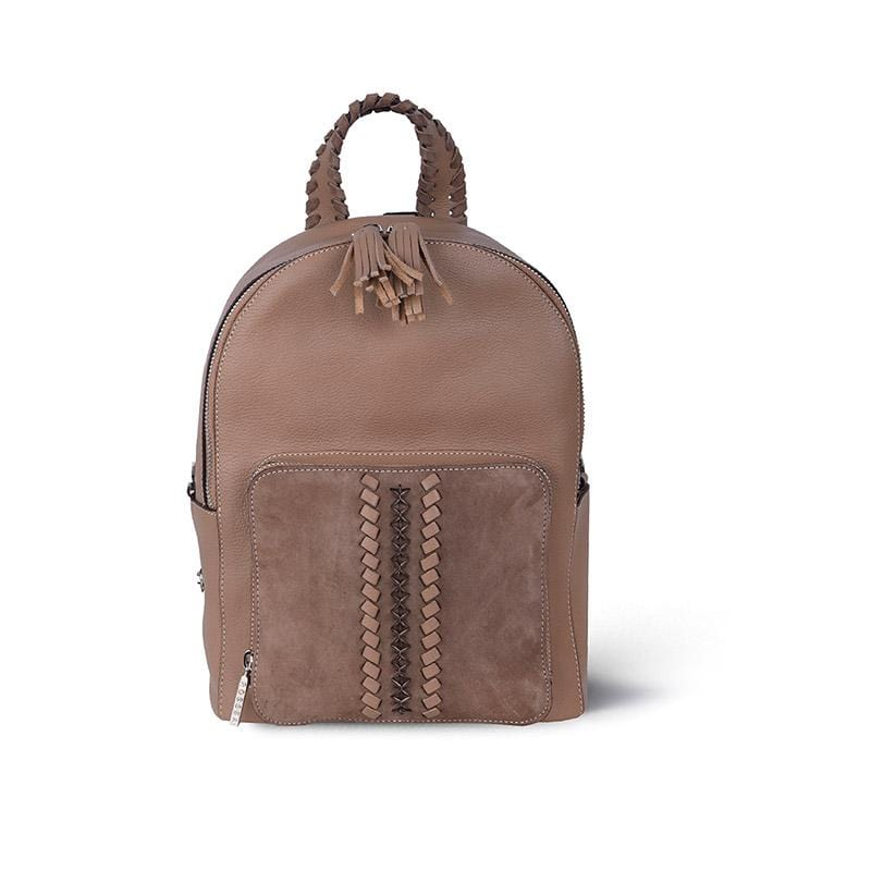 Shebo Backpack | Light Coffee Leather