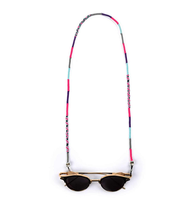 pink purple blue emerald Eyeglass Lanyard | Amatis Star - hippist.co.uk