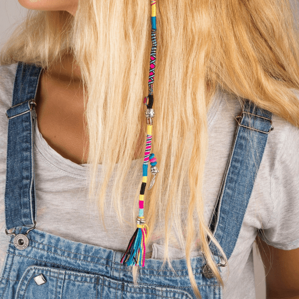 colorful handmade Hair Wrap | Tune - hippist.co.uk