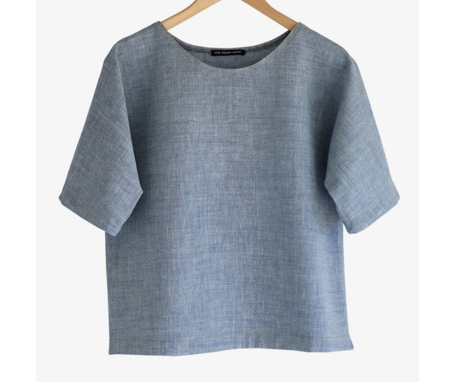 Ada Tee | Blue Clothing one square meter