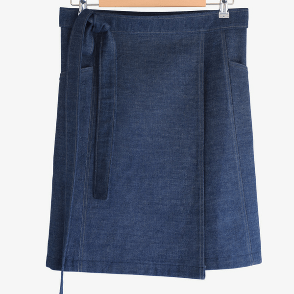 Blue Denim Skirt - hippist.co.uk