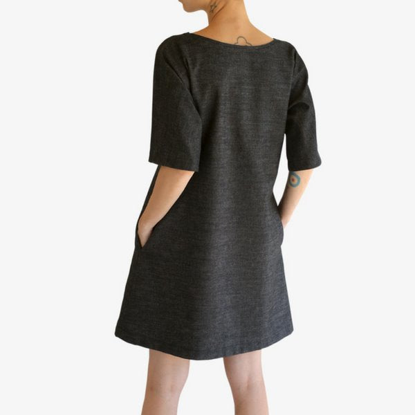 Ada Dress | Black Clothing one square meter