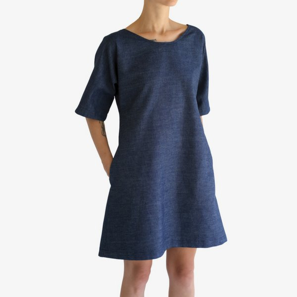 Ada Dress | Blue Clothing one square meter