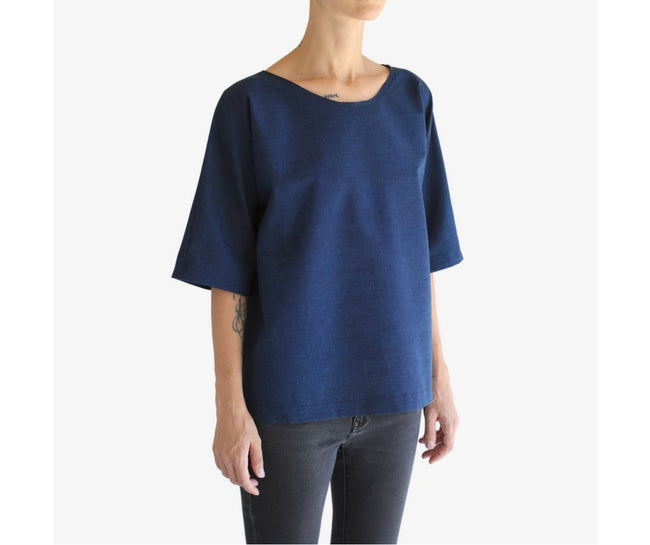 Ada Tee | Indigo Clothing one square meter