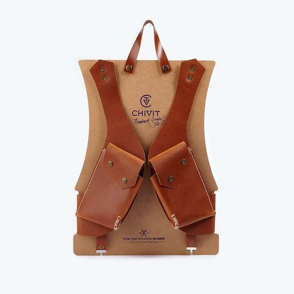 Double Holster | Cognac